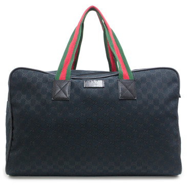 Gucci Back Monogram Large Duffle Bag