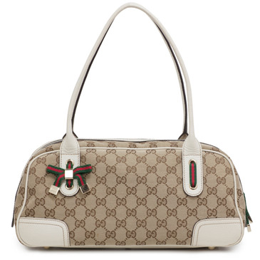 Gucci Monogram Princy Boston Bag