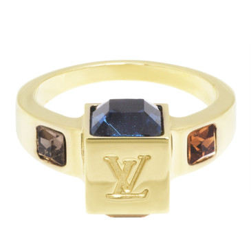 Louis Vuitton Swarovski Gamble Ring