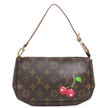 Louis Vuitton Cerises Cherry Monogram Accessories Pochette