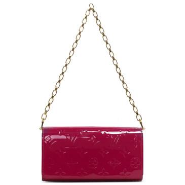 Louis Vuitton Indian Rose Vernis Chaine Wallet
