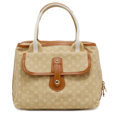 Louis Vuitton Beige Mini Lin Sac Mary Kate
