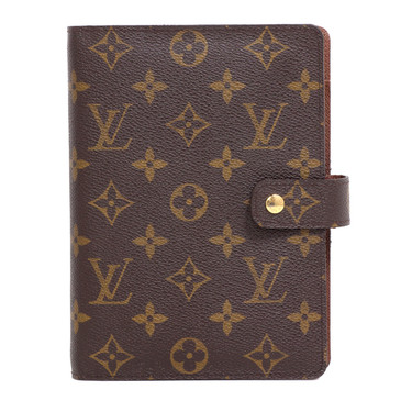 Louis Vuitton Monogram Medium Ring Agenda  Cover