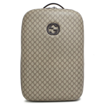 Gucci GG Plus Interlocking G Trolley Luggage