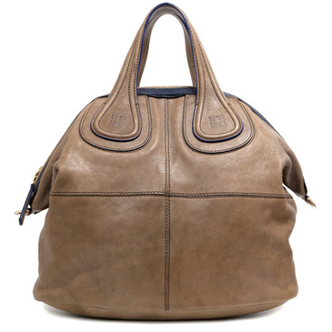Givenchy Brown Lambskin Medium Nightingale