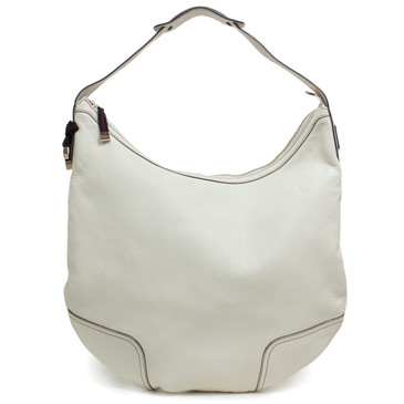 Gucci Ivory Leather Princy Hobo