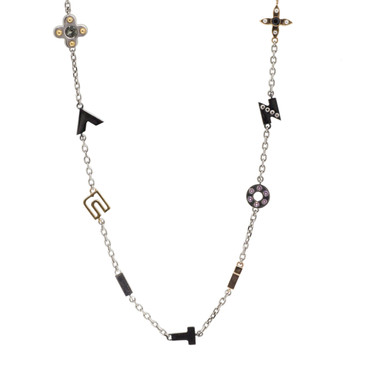 Louis Vuitton Love Letters Timeless Long Necklace