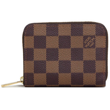 Louis Vuitton Damier Ebene Zippy Coin Wallet