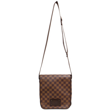 Louis Vuitton Damier Ebene Brooklyn  PM Messenger Bag