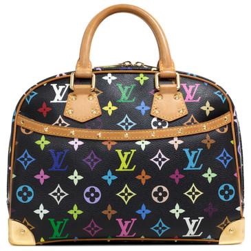 Louis Vuitton Black Monogram Multicolor Trouville
