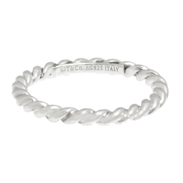 Tiffany & Co. Sterling Silver Twist Ring