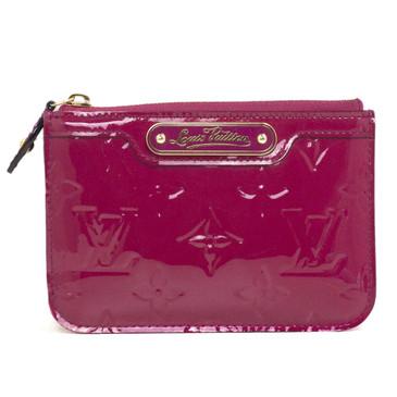 Louis Vuitton Rose Indien Vernis Key Pouch