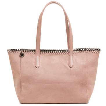 Stella McCartney Pink Shaggy Deer Falabella East West Shopper Tote