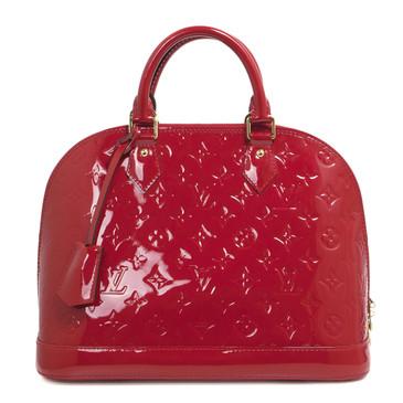 Louis Vuitton Cherry Vernis Alma PM