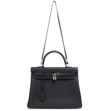 Hermes Black Togo Kelly 35