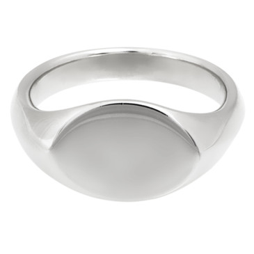 Tiffany & Co. Sterling Silver Elsa Peretti Signet Ring