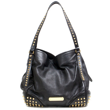 Burberry Black Bridle Studs Canterbury Tote