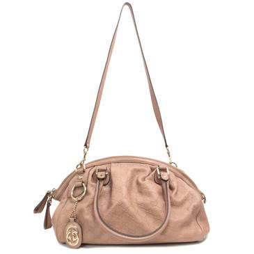 Gucci Guccissima Leather Sukey Boston Bag