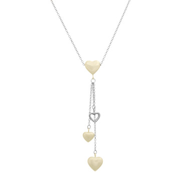 Tiffany & Co. Multi Heart Drop Pendant Necklace