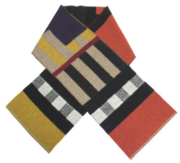 Burberry Wool/Cashmere Check Scarf