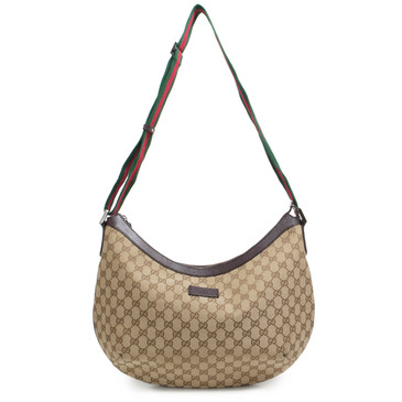 Gucci GG Canvas Web Messenger Bag