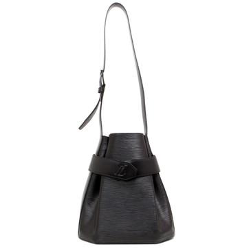 Louis Vuitton Black Epi Sac  D'Épaule