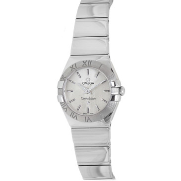 Omega Constellation Stainless Steel Ladies Watch 123.10.24.60.02.002