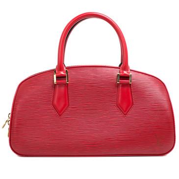 Louis Vuitton Red Epi Leather Jasmin Bag