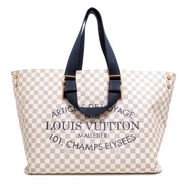 Louis Vuitton Damier Azur Plein Soleil Cabas GM