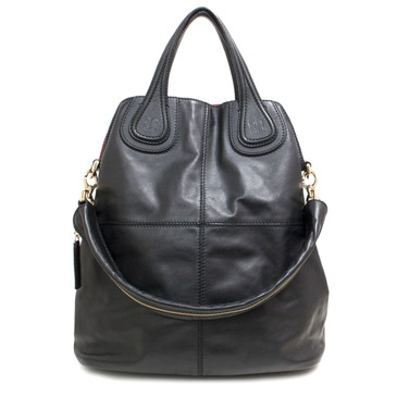 Givenchy Black Calfskin Nightingale North South Tote