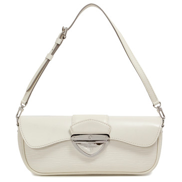 Louis Vuitton Ivory Epi Montaigne Clutch