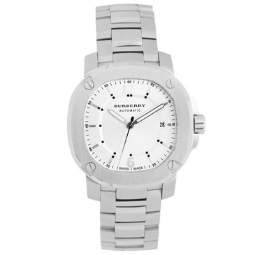 Burberry Stainless Steel 'The Britain' Automatic Watch BBY1204