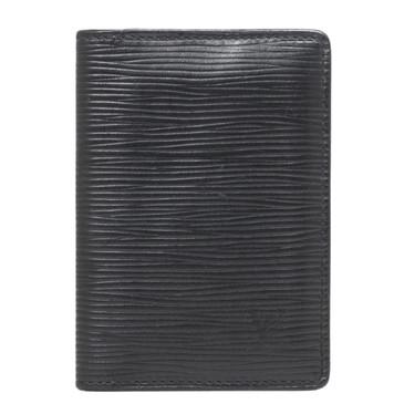 Louis Vuitton Black Epi Pocket Organizer
