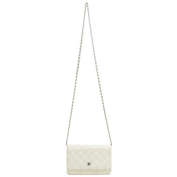 Chanel Pearl Caviar Classic Wallet on Chain WOC
