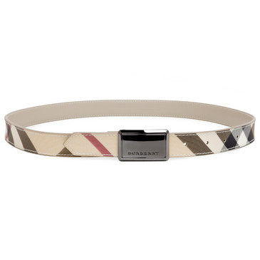 Burberry Nova Check Belt