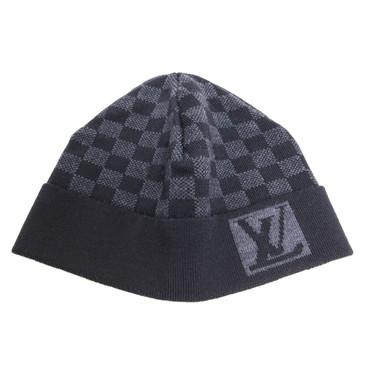 Louis Vuitton Damier Wool Knit Hat