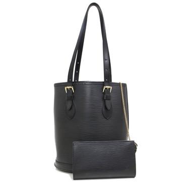 Louis Vuitton Black Epi Petit Bucket