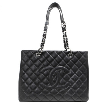 Chanel  Black Caviar GST Grand Shopping Tote