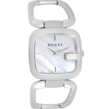 Gucci G Mother of Pearl Ladies Watch
