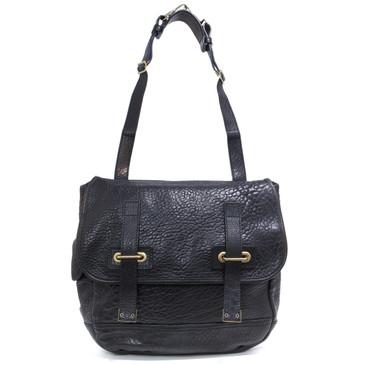 Yves Saint Laurent Black Besace Shoulder Bag