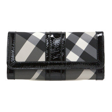 Burberry Beat Check Penrose Continental Wallet