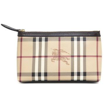 Burberry Haymarket Check Pouch