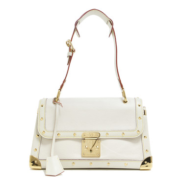 Louis Vuitton  White Suhali Le Talentueux Bag