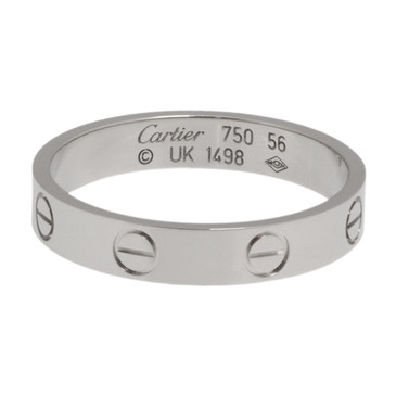 Cartier 18K White Gold Love Wedding Band