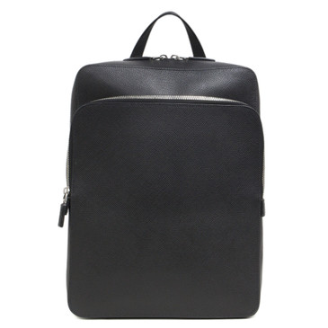Prada Black Saffiano Cuir Slim Backpack