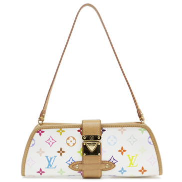 Louis Vuitton White Multicolor Shirley