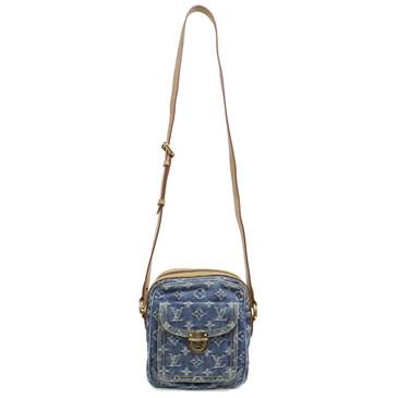 Louis Vuitton Monogram Denim Camera Bag
