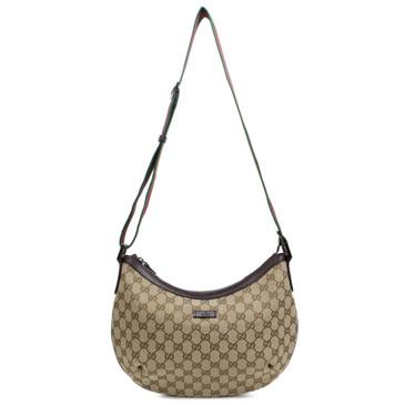 Gucci Original GG Canvas Web Messenger Bag