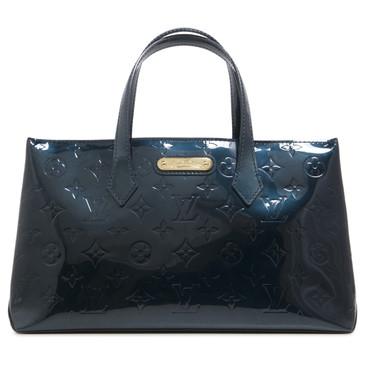 Louis Vuitton Blue Nuit Vernis Wilshire PM