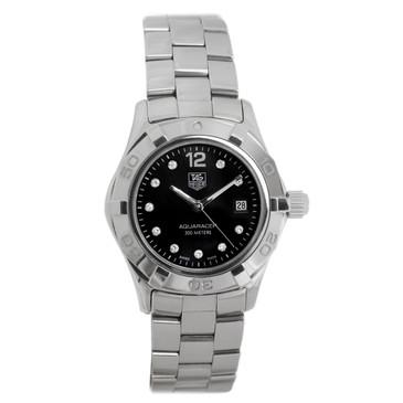 Tag Heuer Stainless Steel & Diamond Aquaracer Ladies Watch